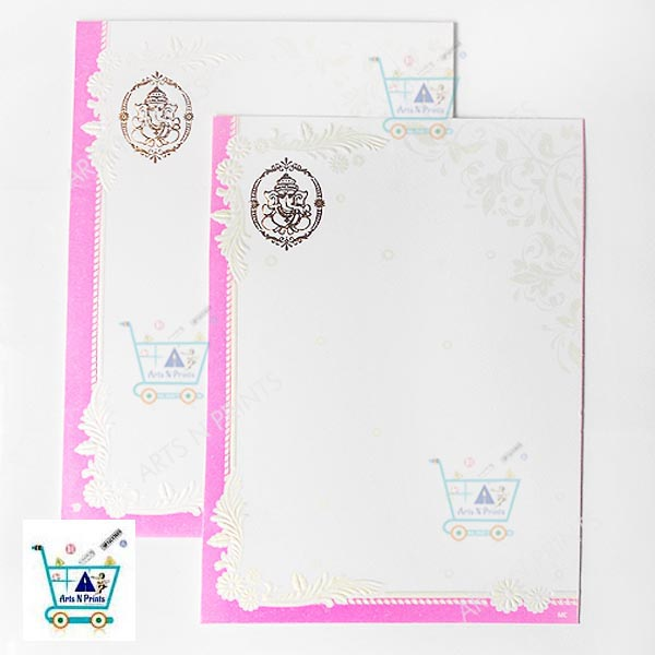 white marriage cards online