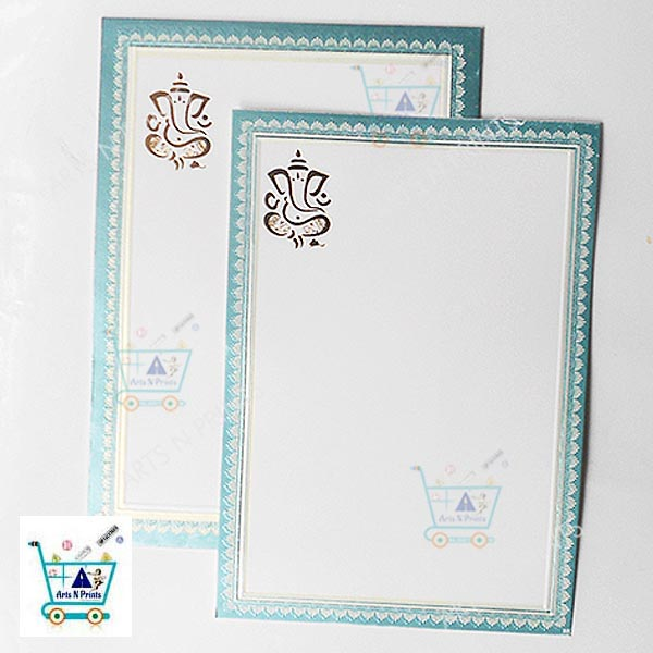 marriage card white